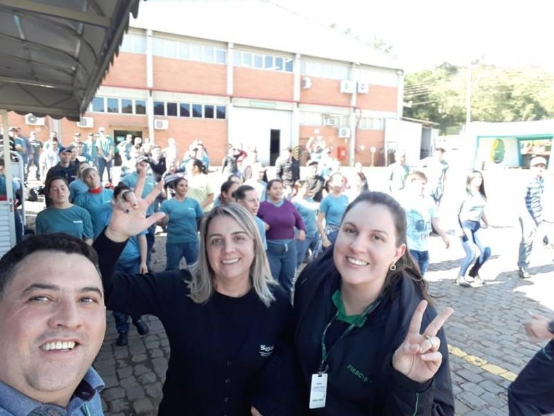 SIPAT 2018 - Semana Interna de Prevenção de Acidentes no Trabalho da Sopasta
