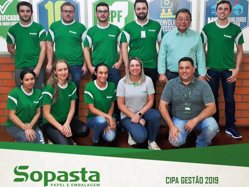 Comissão Interna de Prevenção de Acidentes (CIPA) - Gestão 2019